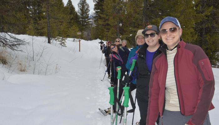 Alumni Snowshoe Adventure